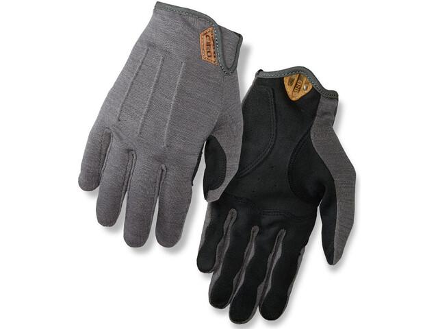 Giro D'Wool Handschoenen Heren, grijs/zwart
